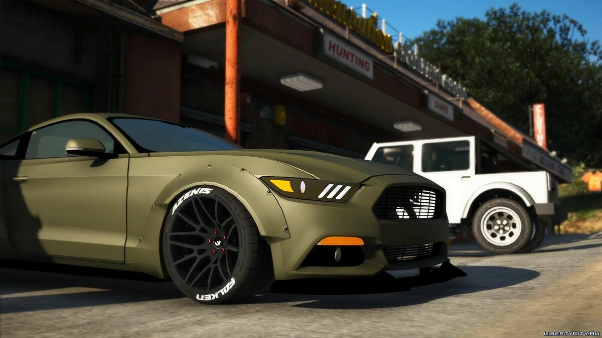 Ford car WideBody Ford Mustang [FiveM] [Replace] 3.0 for GTA 5