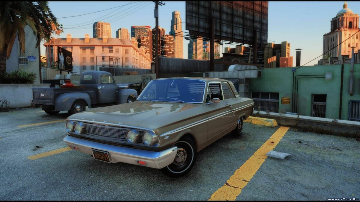 Ford car 1964 Ford Fairlane 500 [Add-On | Extras | Tuning | LODs] 1.0 for GTA 5