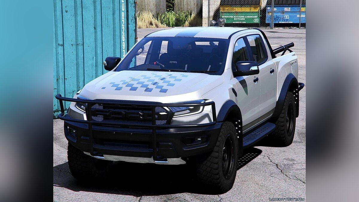Ford car 2019 Ford Ranger Raptor [Add-On | Extras | Template] 1.0 for GTA 5