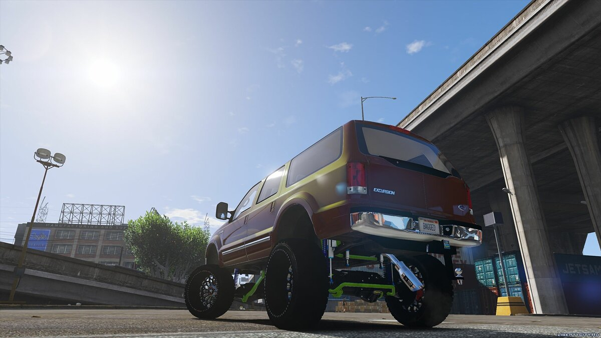 Ford car 2000 Ford Excursion SEMA Edition [Add-On] 1.0 for GTA 5