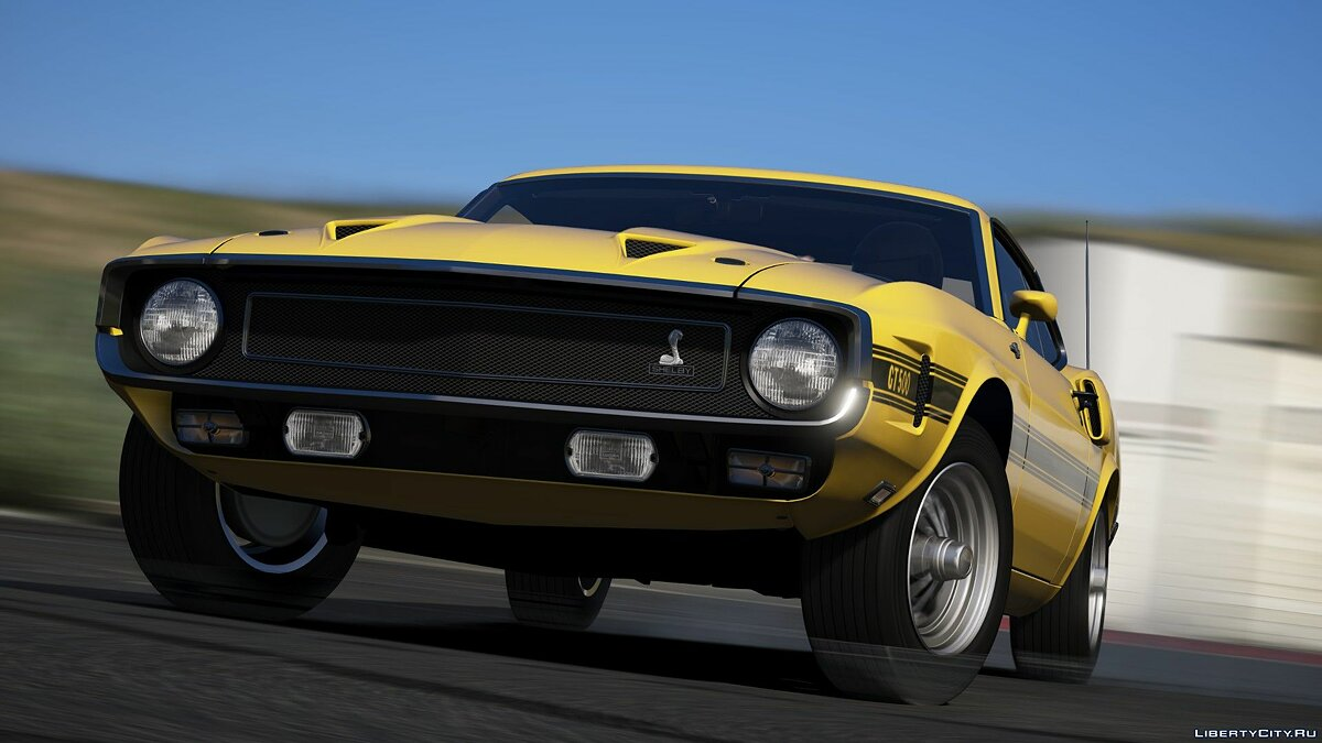 Ford car 1969 Ford Mustang Shelby GT500 428CJ v1.0 for GTA 5