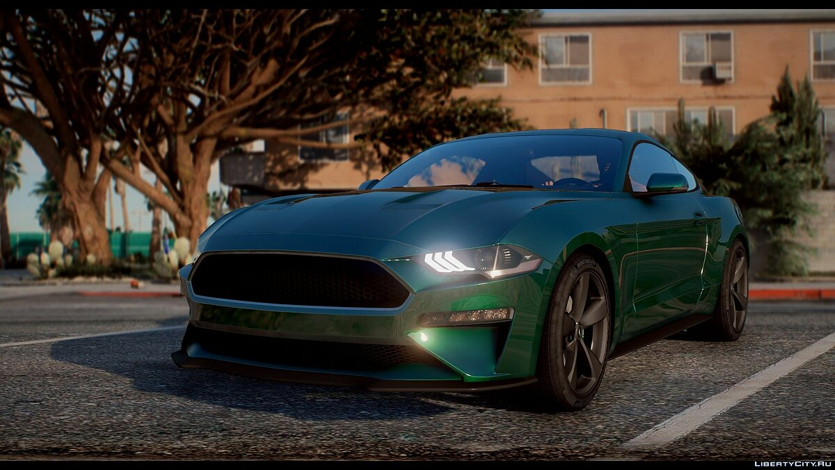 Ford car 2019 Ford Mustang GT [Bullitt | RTR | 5 Rims] 1.3 for GTA 5