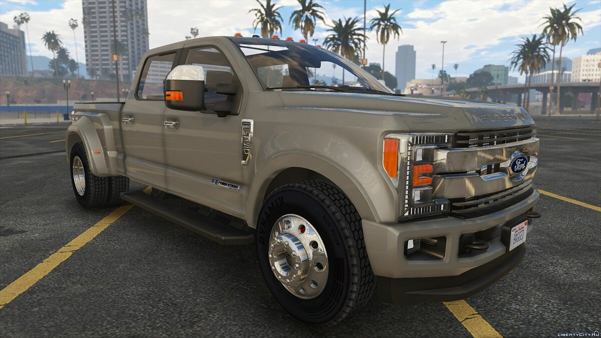 Ford car 2018 Ford F-350 Super Duty Stock Goose-neck / Bumper [Add-On] 1.0 for GTA 5