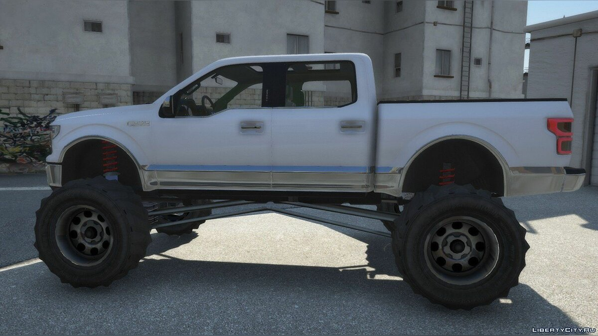 Ford car 2019 Ford F-150 Lifted [Replace] 1.0 for GTA 5
