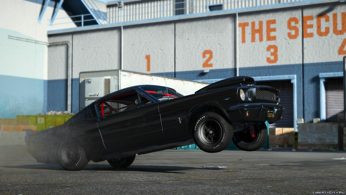 Ford car 1966 Ford Mustang Fastback 2 + 2 [Template] [Owners_Manual] 1.0 for GTA 5
