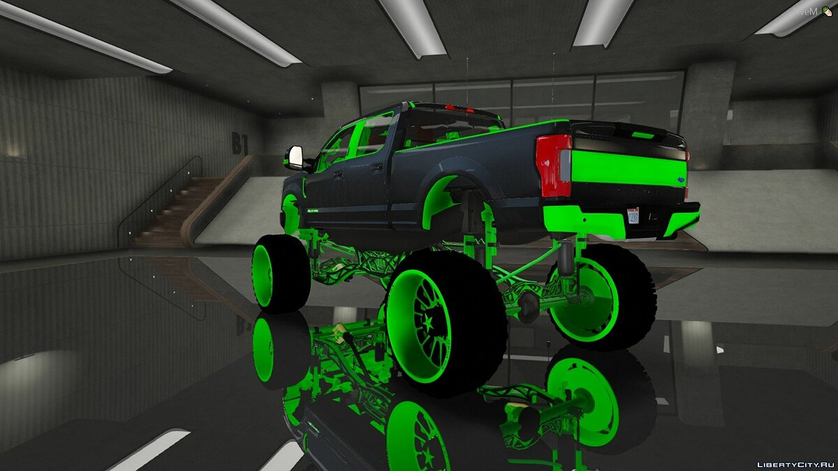Ford car Ford F350 Sema Build 2020 for GTA 5