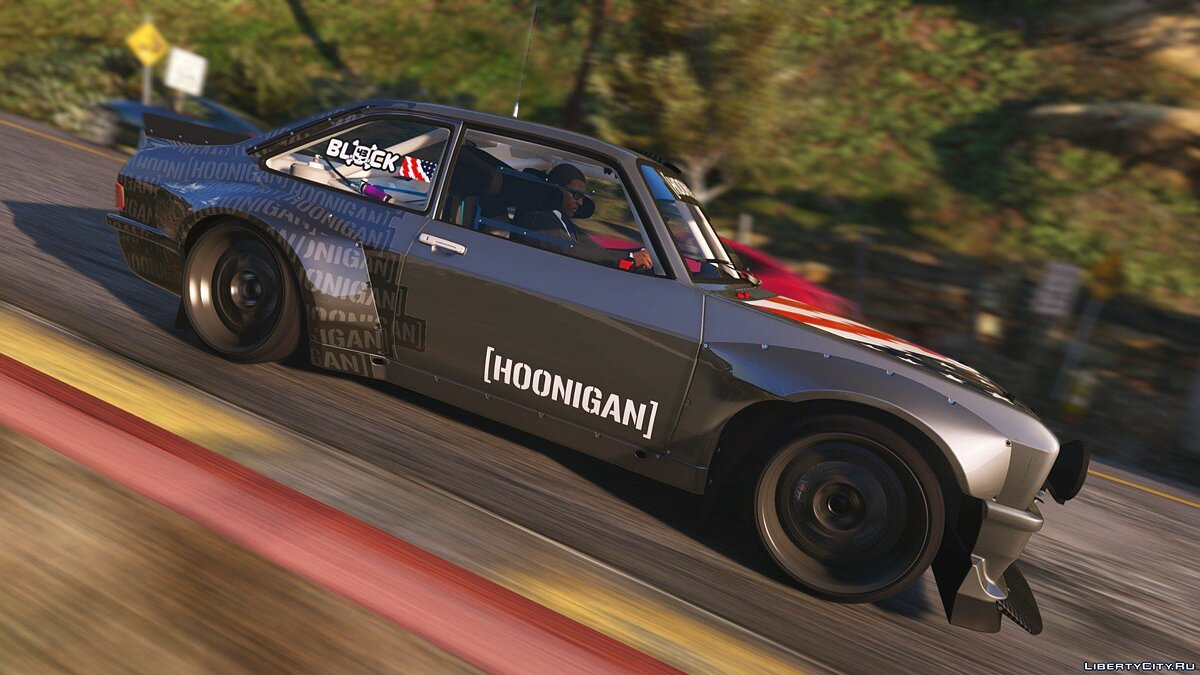 Ford car 1978 Hoonigan Ford Escort Mk2 RS [ADD-ON / TUNING / TEMPLATE] v1.11 for GTA 5