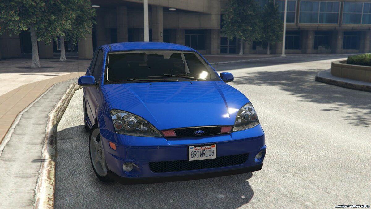 Ford car Ford Focus SVT [Add-On / Replace] 1.0 for GTA 5