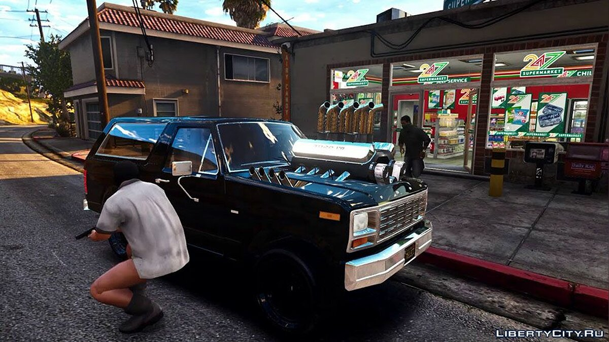 Ford car Ford Bronco 1980 (Heavy V8) [Add-On] for GTA 5