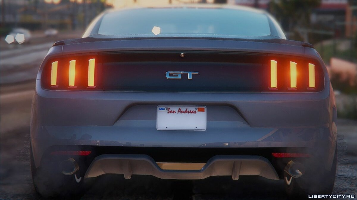 Ford car Ford Mustang 2015 MkVI (S550) [Replace] 1.2 for GTA 5