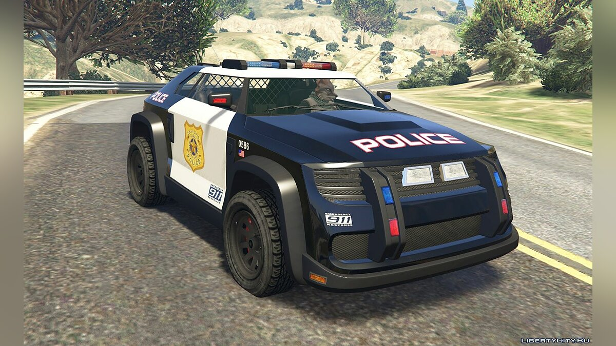 Funny car Zootopia ZPD Cruiser [Add-On | Livery] 1.0 for GTA 5