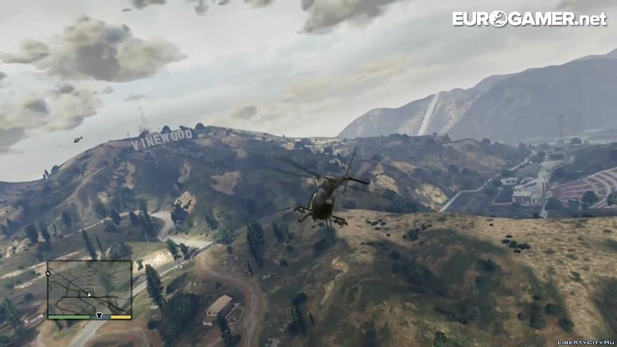 Helicopter tour of Los Santos for GTA 5 - screenshot #10