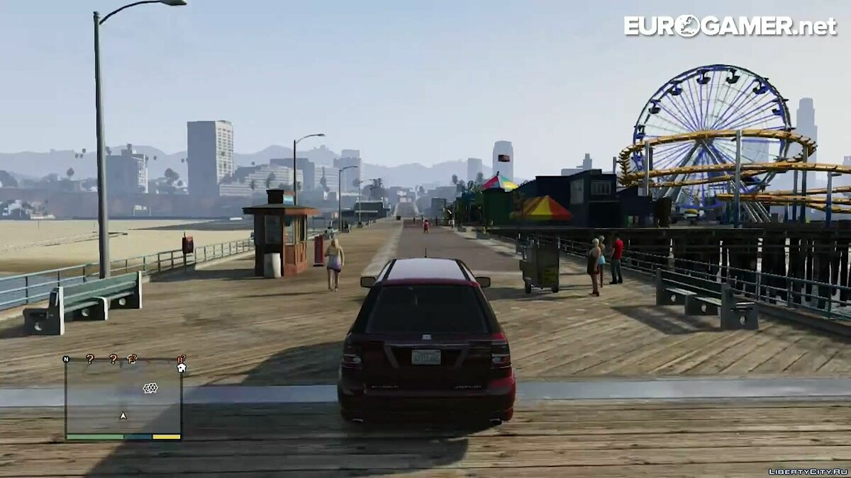 Car tour of Los Santos for GTA 5