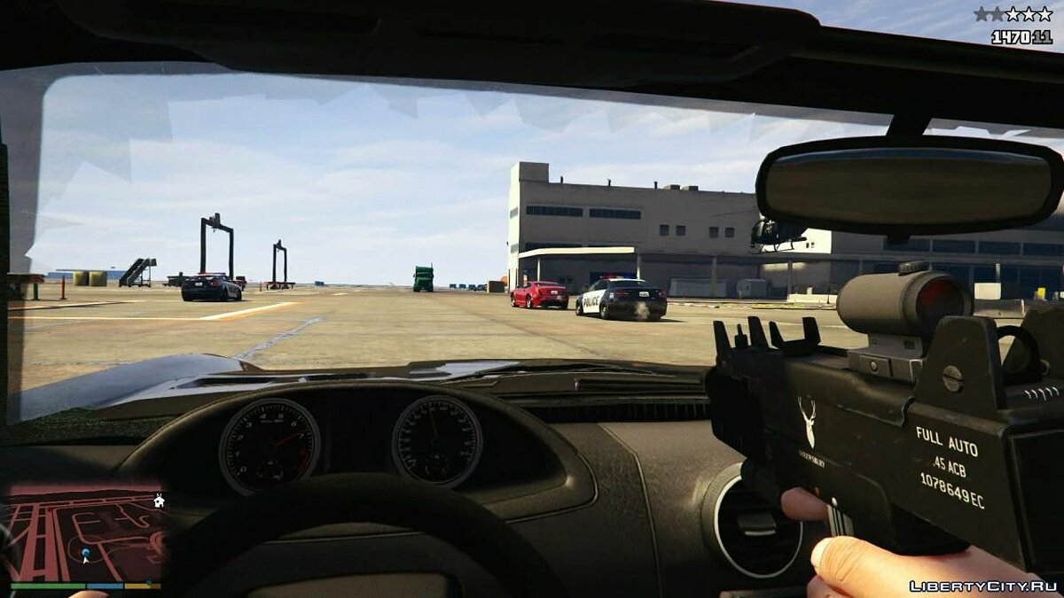 Gameplay with a first-person view for GTA 5 - screenshot #7