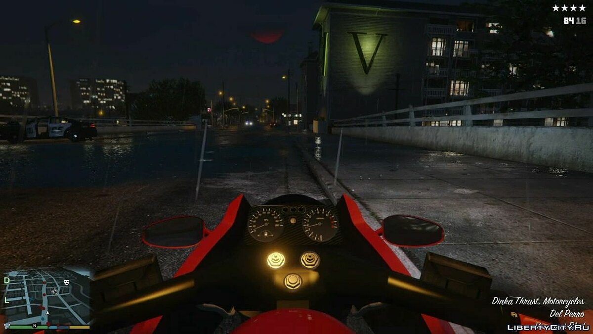 Gameplay with a first-person view for GTA 5 - screenshot #9