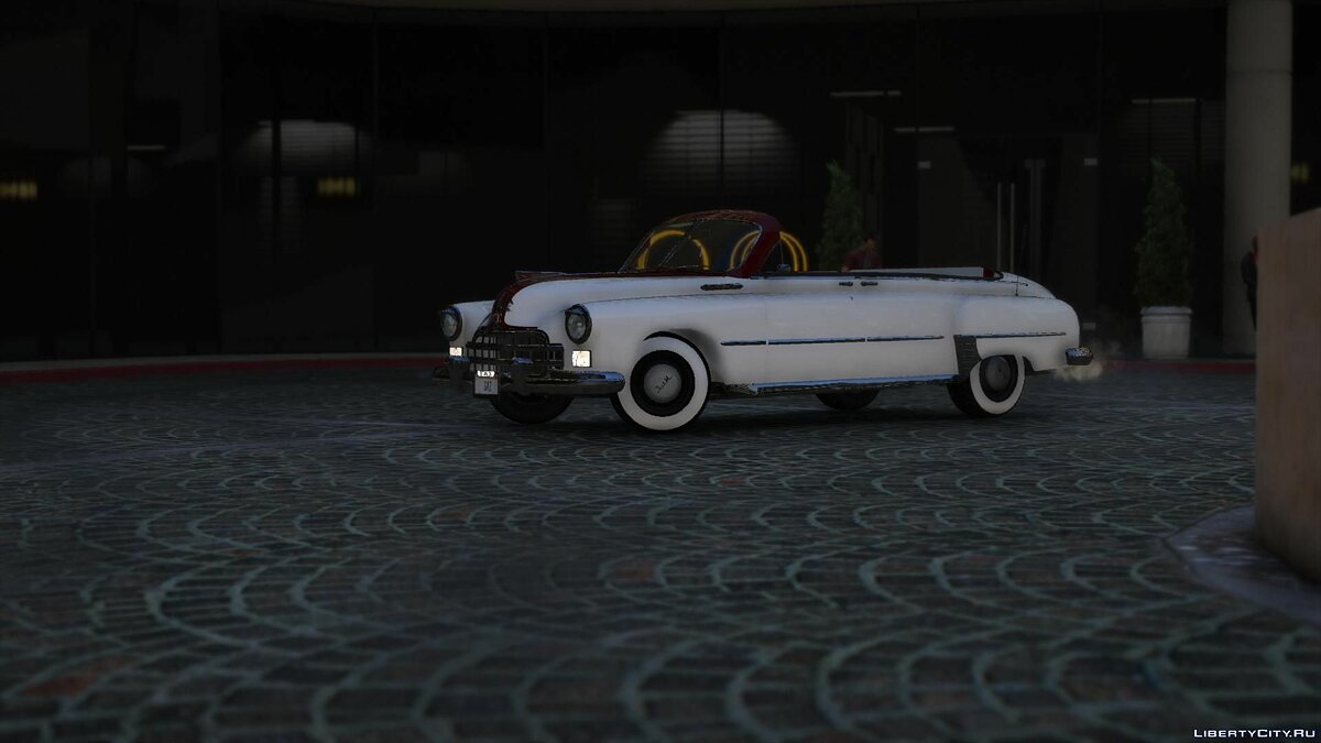 GAZ car GAZ-12 ZIM for GTA 5