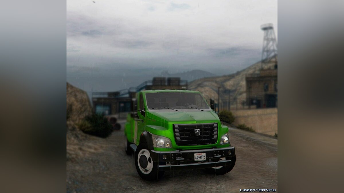 GAZ car ГАЗон NEXT for GTA 5