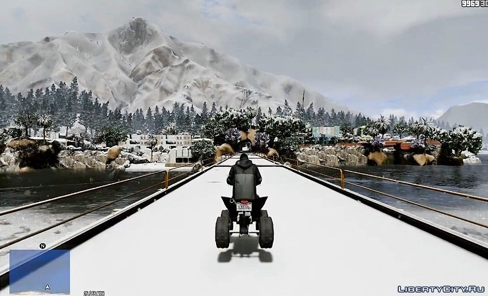 Winter in GTA 5 (OIV packs
