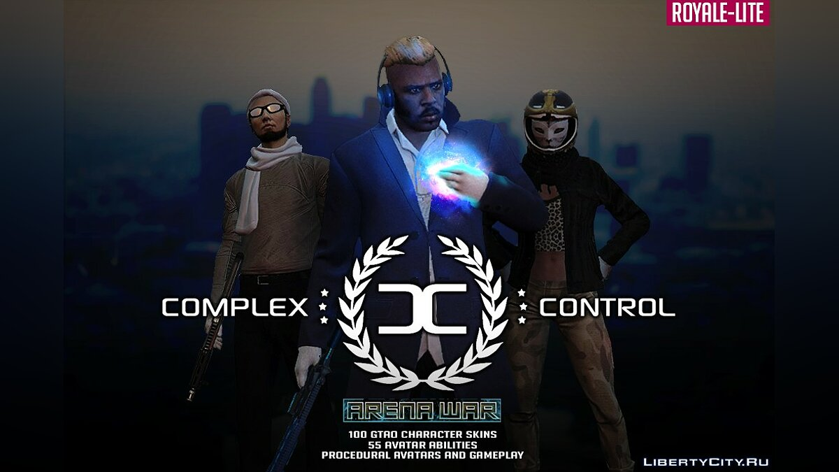 Global mod Complex Control for GTA 5