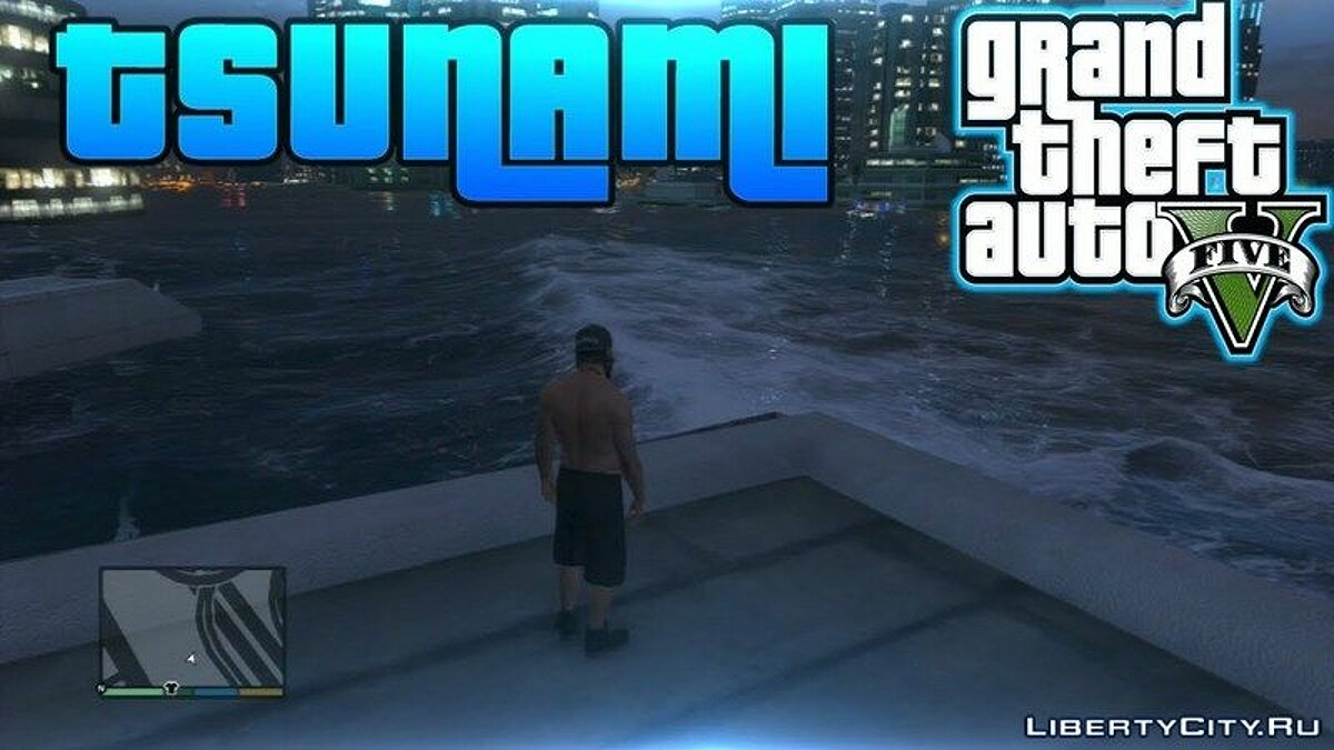 Tsunami Mod by Bushigan for GTA 5
