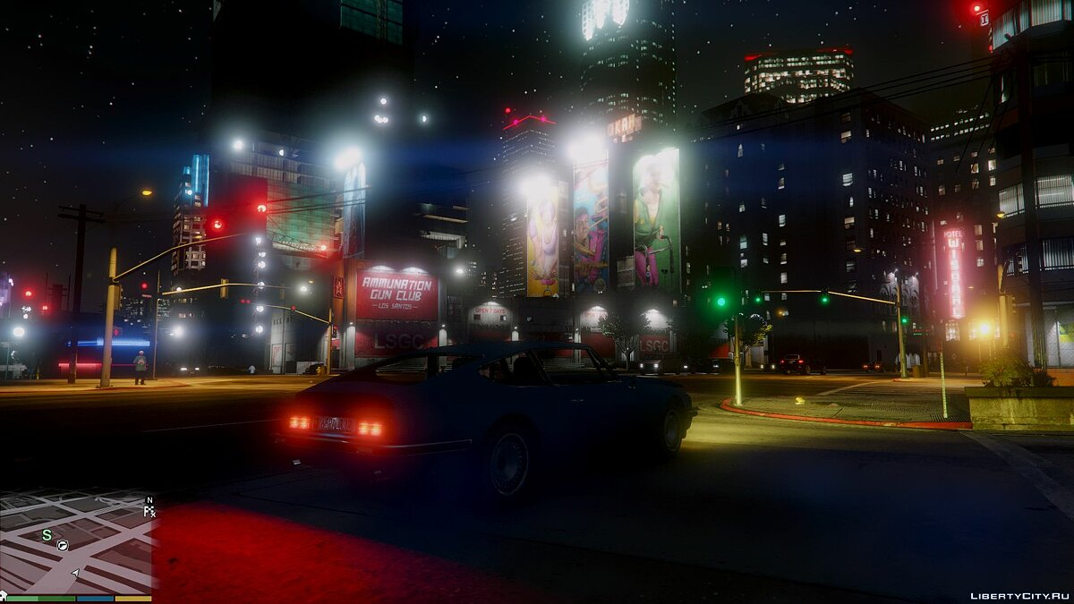 Global mod GTA 5 Graphics Patch for GTA 5
