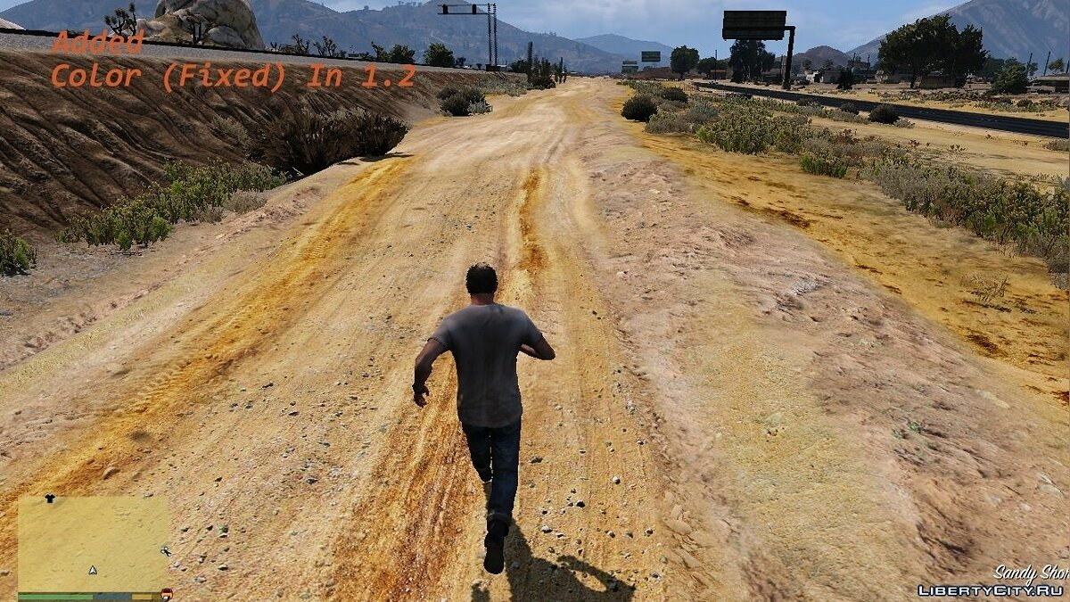 Global mod Improved roads for GTA 5