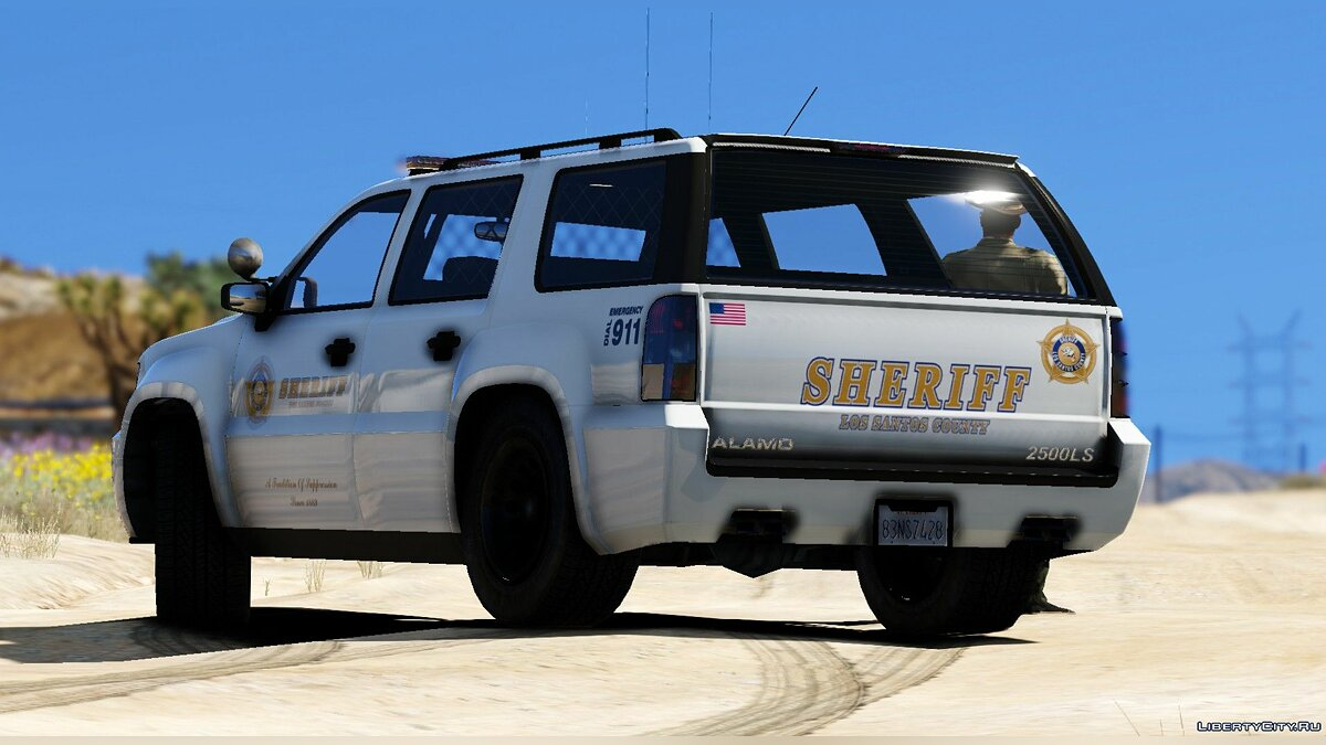 Global mod Sheriff Declasse Alamo | LSSD | All white for GTA 5