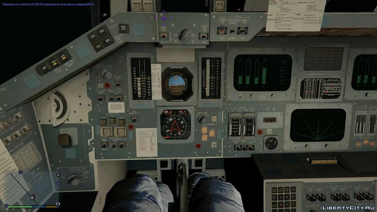 Global mod Grand Theft Space [.NET] 1.0 for GTA 5