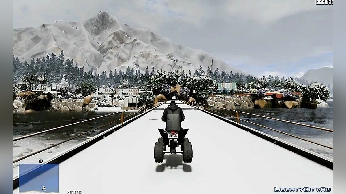 Global mod Winter in GTA 5 (OIV packs