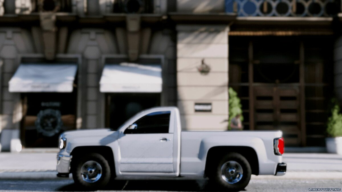 GMC sierra 2017 BETA for GTA 5 - screenshot #3