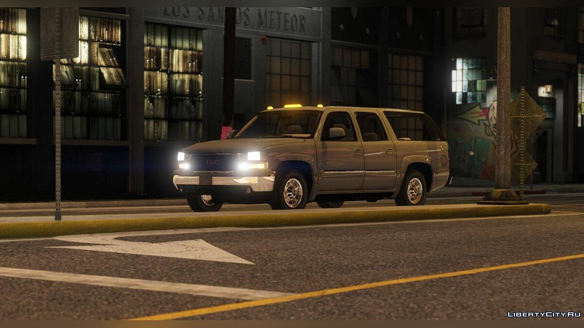 GMC car GMC Yukon XL 2003 [Add-On | Replace | Livery | Extras] 1.1 for GTA 5