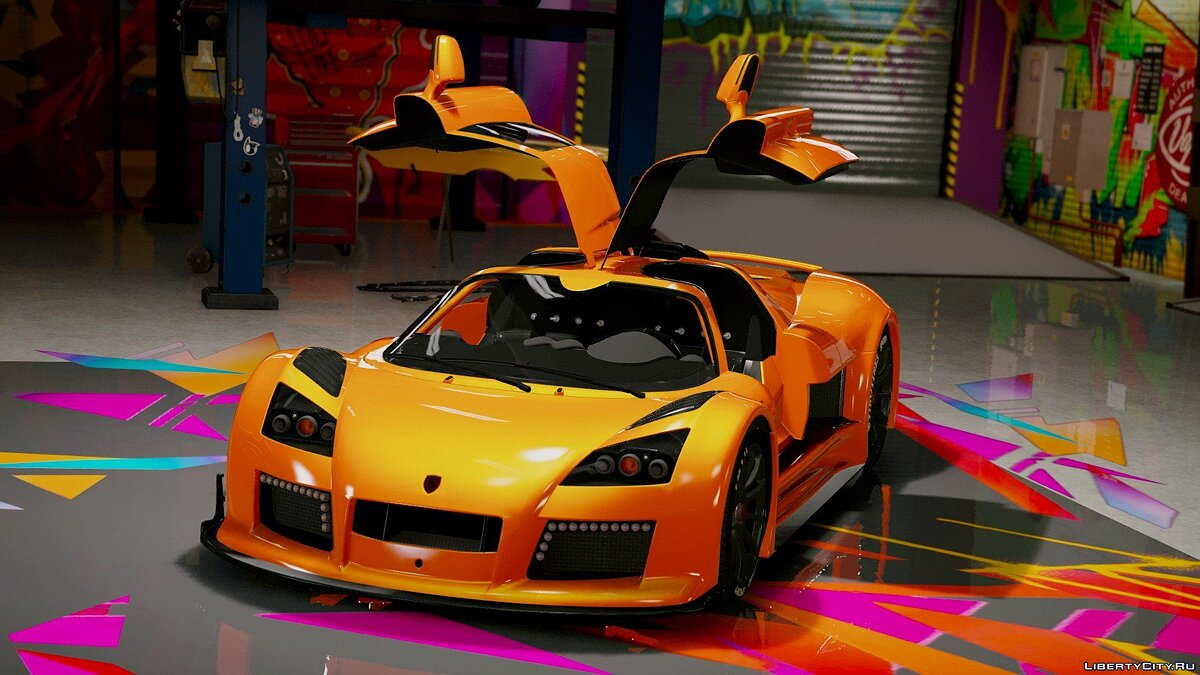 Gumpert car Gumpert Apollo S [Add-On] 1.5 for GTA 5