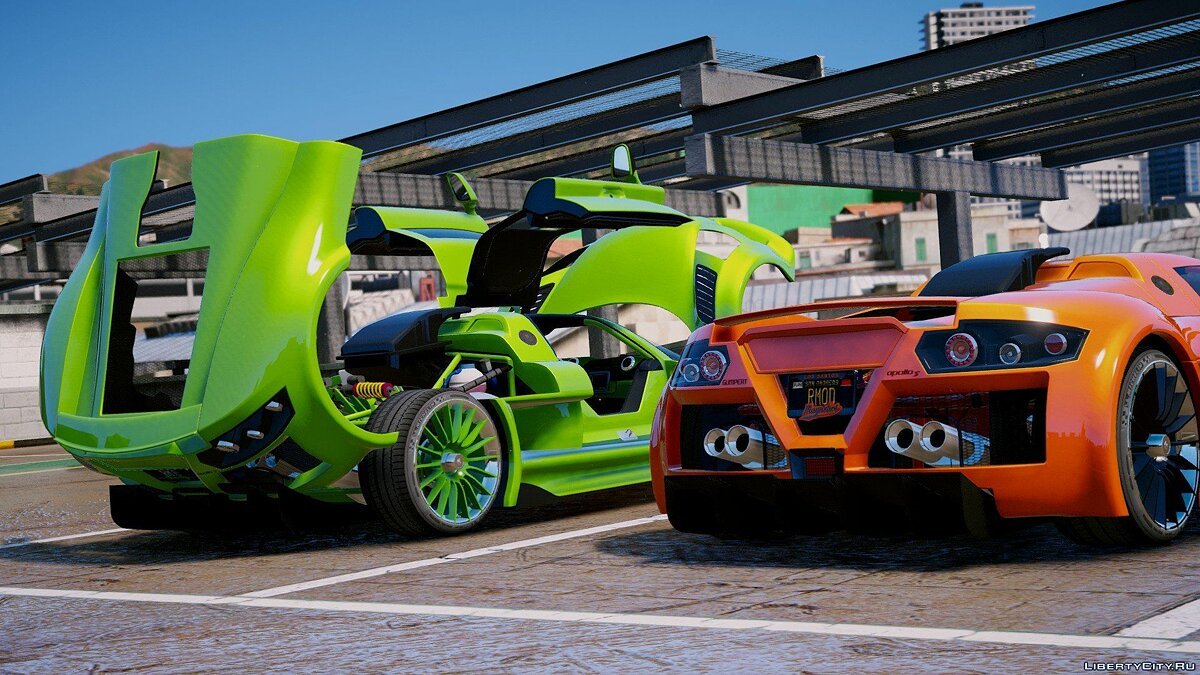 Gumpert car Gumpert Apollo S [Add-On] 2.0 for GTA 5
