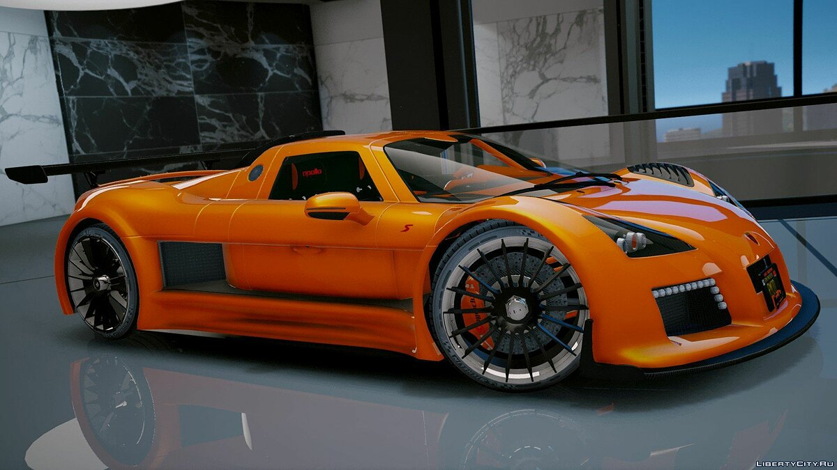 Gumpert car Gumpert Apollo S [Add-On] 2.1 for GTA 5
