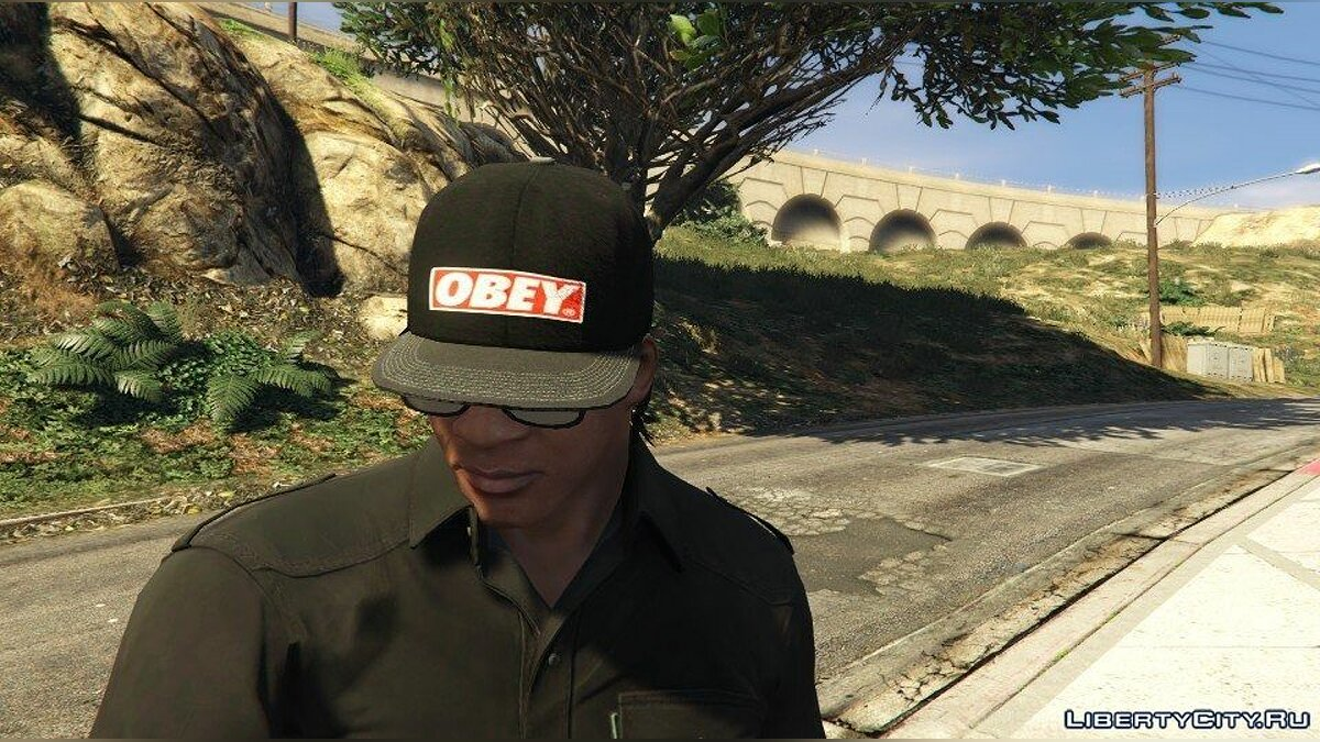 Obey Hat for GTA 5 - Картинка #1