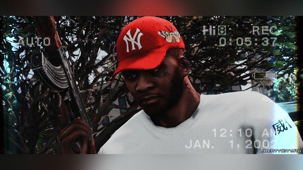 Hats Cap GUCCI X YANKEES for GTA 5