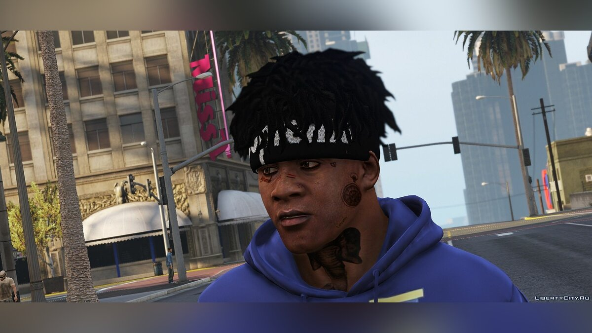 Hats Bandanas for Franklin SUPREME X NEW ERA for GTA 5
