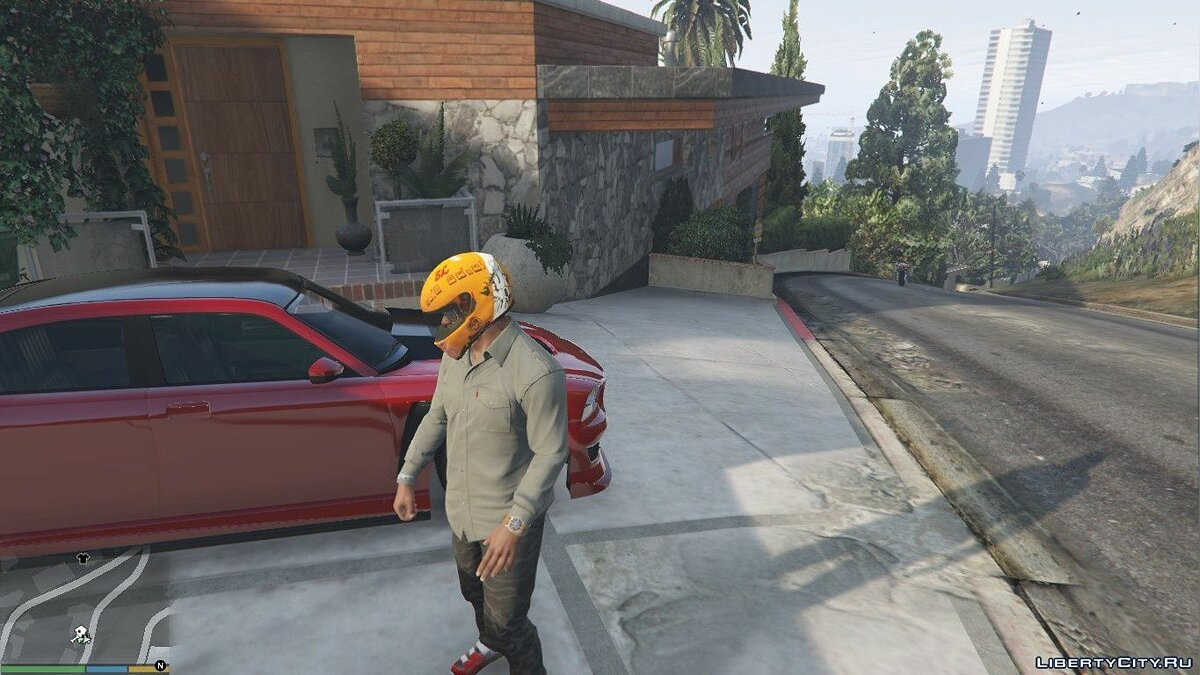 Hats Two beautiful helmets for Franklin 1.0 for GTA 5