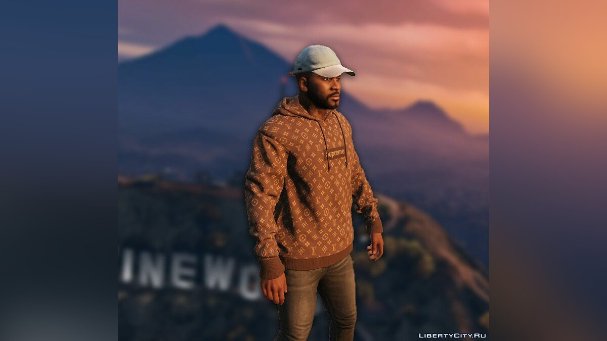 Hats Lacoste Cap w / Leather Strap 1 for GTA 5