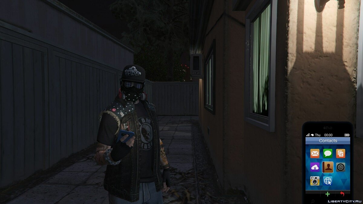 Hats DedSec Hat for MP Male for GTA 5