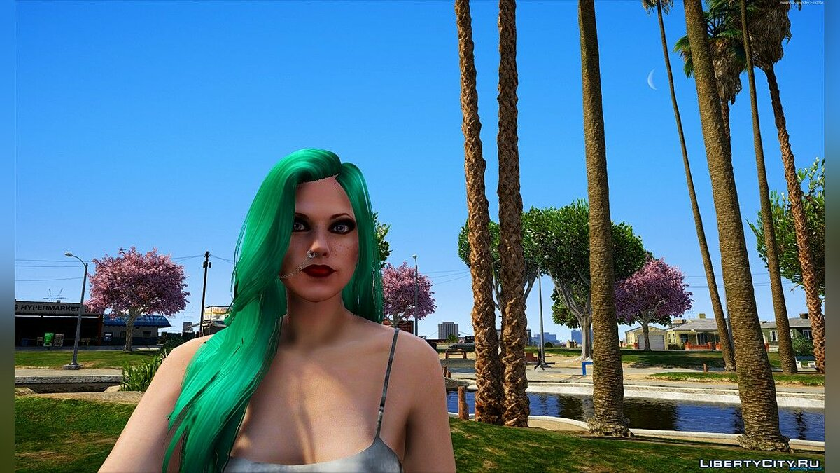Haircut and beard New female hairstyle # 3 [SP / FiveM] 1.1 for GTA 5