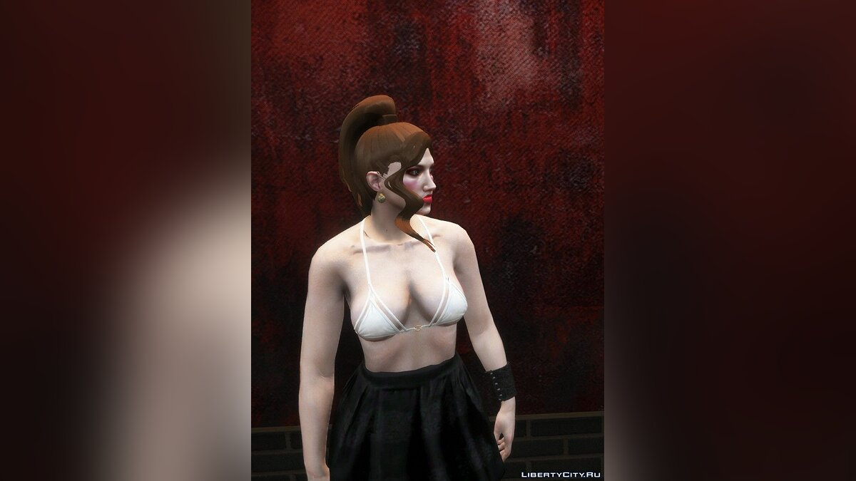 Haircut and beard New hairstyles for female characters for GTA 5