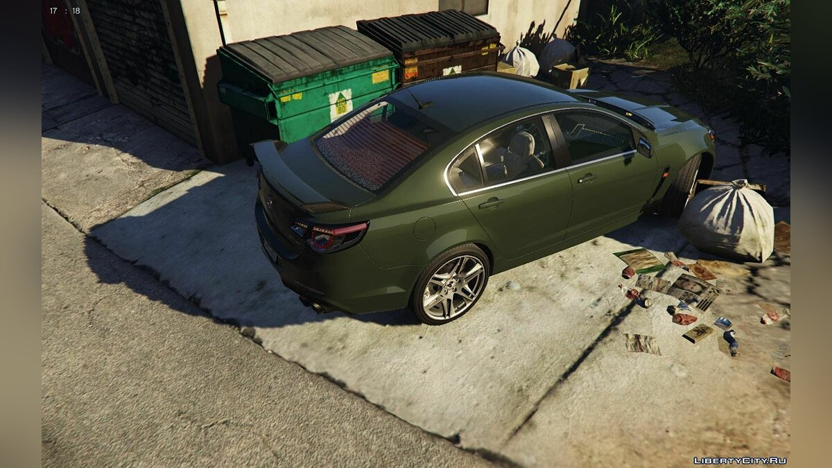 Holden car 2014 Holden HSV GTS [Replace | Tuning] Final for GTA 5