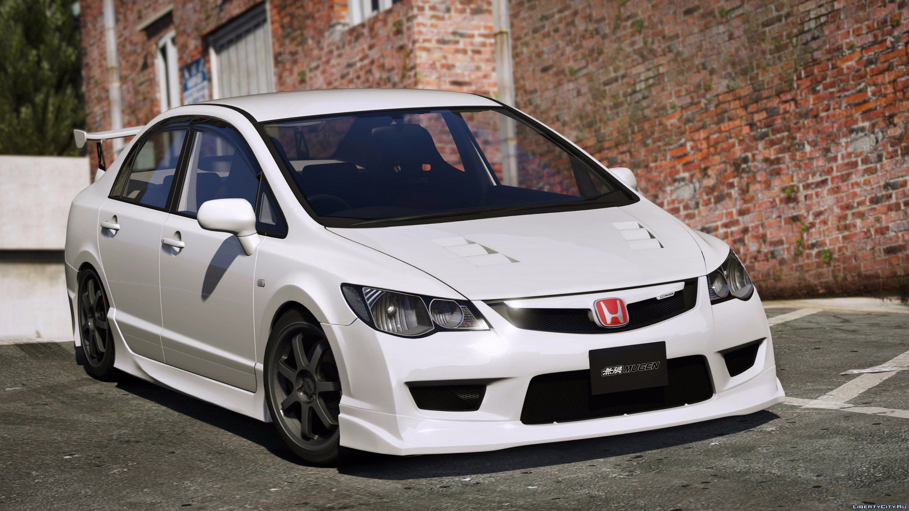 2008 honda civic type r fd2 mugen j 39 s racing rhd v1 1 for gta 5. Black Bedroom Furniture Sets. Home Design Ideas