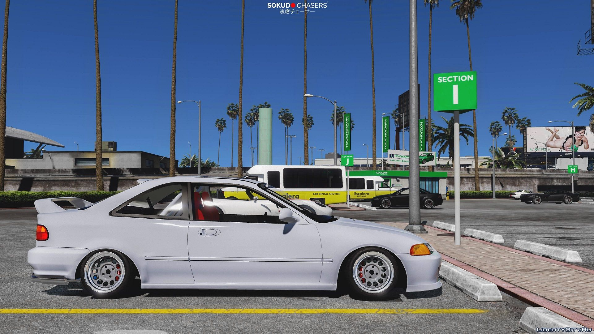 Honda Civic Ej2 Coupe Replace Tuning 1 1 For Gta 5