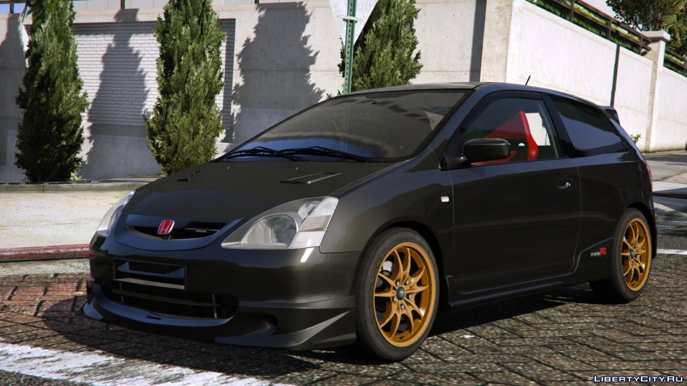 2004 honda civic type r ep3 add on rhd mugen for gta 5. Black Bedroom Furniture Sets. Home Design Ideas