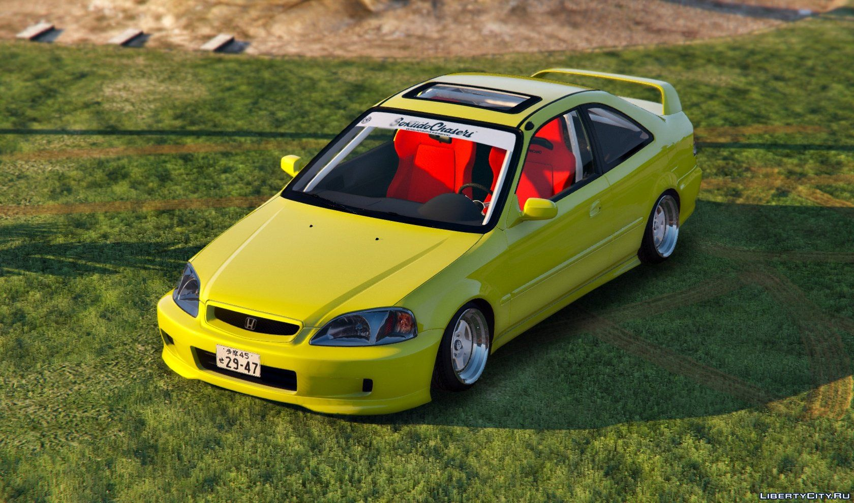 honda civic em1 coupe si replace for gta 5
