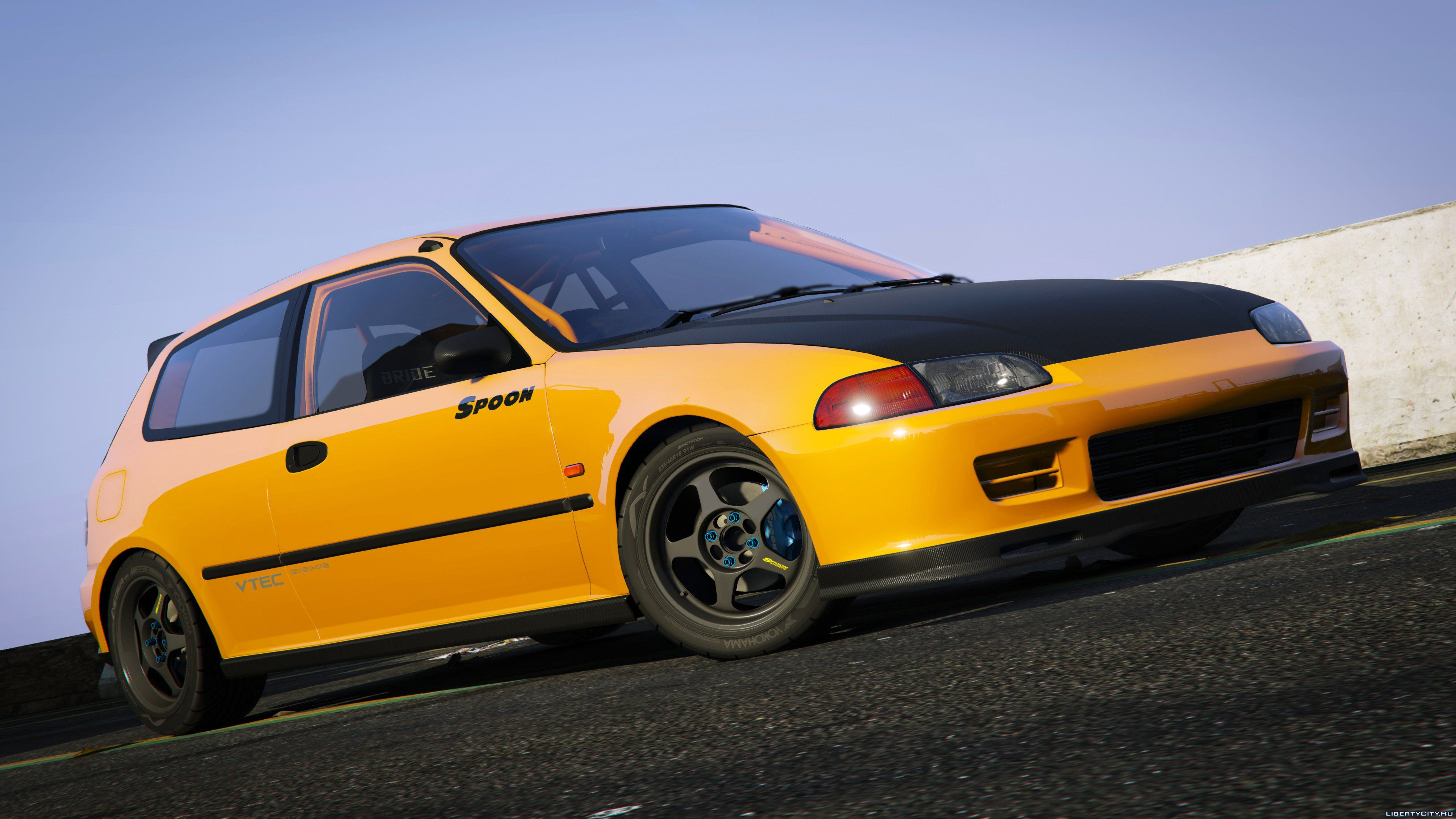 spoon sports honda civic sir eg6 add on 1 0 for gta 5. Black Bedroom Furniture Sets. Home Design Ideas