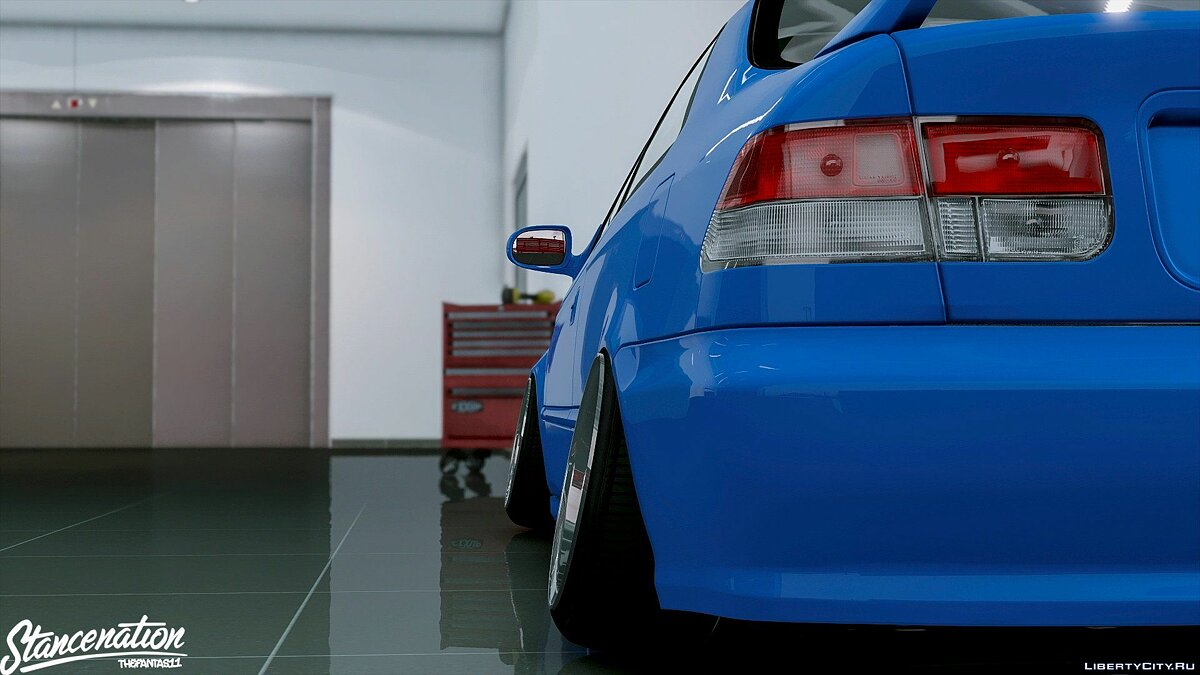Honda car Honda Civic EM1 Coupe Si [Replace] 1.1 for GTA 5