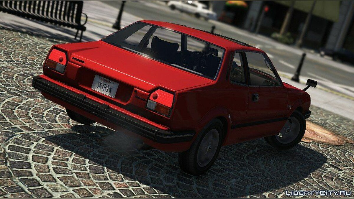 Honda Prelude 1980 for GTA 5 - screenshot #2